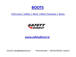Cofra Soul | Safety | Work | Mens Footwear | Boots | safetydirect.ie