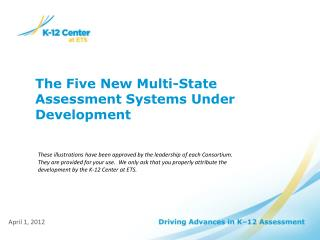 The Five New Multi-State Assessment Systems Under Development