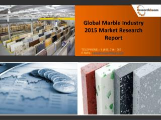 Marble market profit, production value, and gross margin