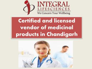 Integral Life Sciences - Pharmaceutical Company Chandigarh