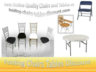 Sale Online Quality Chairs and Tables at folding-chairs-tables-discount.com