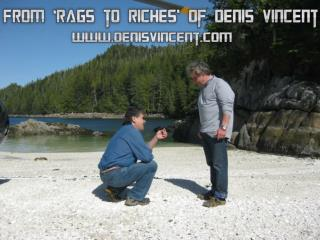 From 'rags to riches' of Denis Vincent
