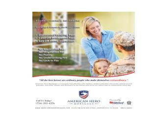 Home Loan Benefits for Veterans