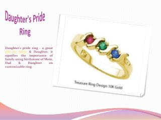 Daughter's Pride Ring Forever Design