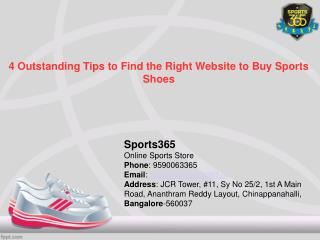 4 Outstanding Tips to Find the Right Website to Buy Sports Shoes
