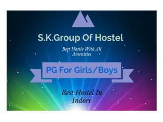 Girls Hostel in indore