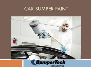 Car Bumper Paint