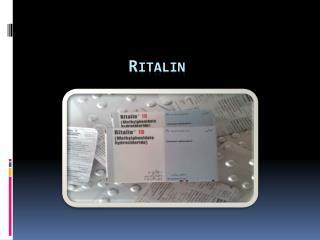 Ritalin Medication