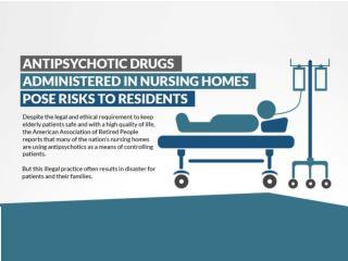 Antipsychotic Drugs Administred in Nursing Homes Pose Risks to Residends