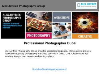 Professional Photographer Dubai