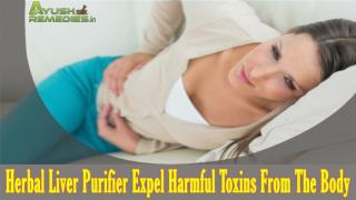 Herbal Liver Purifier Expel Harmful Toxins From The Body