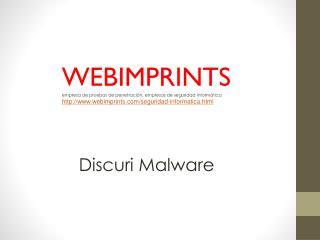 Discuri Malware