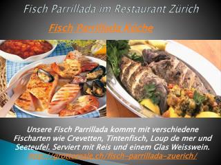Fisch Parrillada im Restaurant Zürich