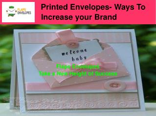Explore Our Vast Range Of Printed Envelopes Online