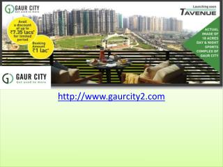 Gaur City Residential Apartments