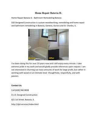 Home Repair Batavia IL
