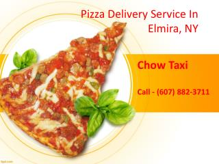 Pizza delivery Elmira, NY