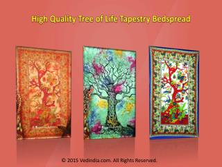 Beautiful Cotton Tree of Life Tapestries Wall Hangings