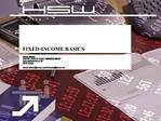 FIXED-INCOME BASICS