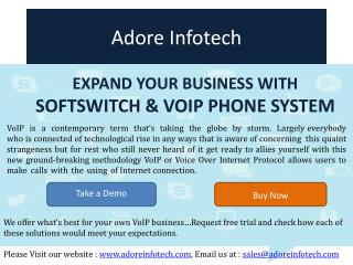 Expand your business with Softswitch & VoIP Phone System