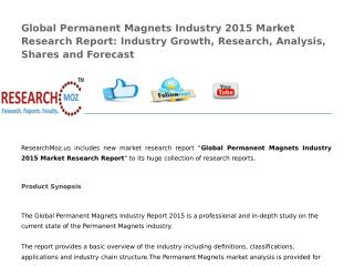Global Permanent Magnets Industry 2015 Market Research Report