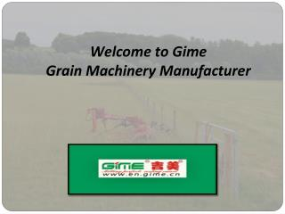 Comprehensive Range of Agricultural Machinery