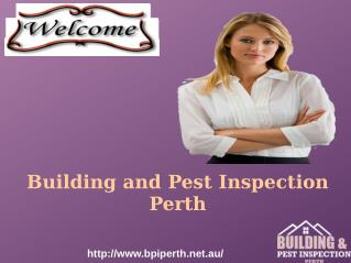 Pre Purchase Building  Inspection Perth