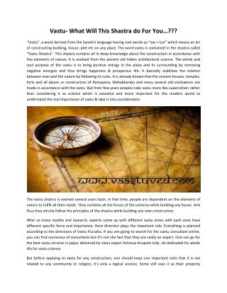Best Vastu Services & Consultancy in Jaipur | Vaastuved.com