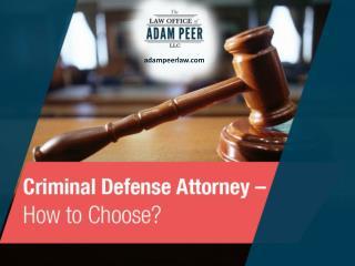 Guide to Choose Criminal Defense Attorney in Overland Park