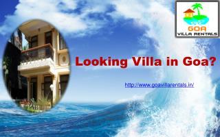 Goa Villa Rentals