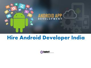 Hire Android Developer India