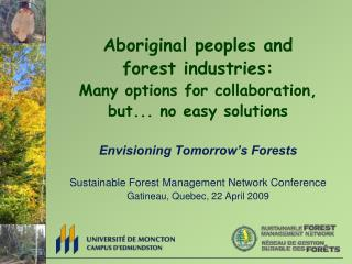 Forestry across management and knowledge systems