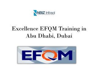 Excellence EFQM Training in Abu Dhabi, Dubai