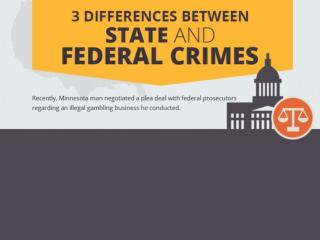 Differences Between State and Federal Crimes
