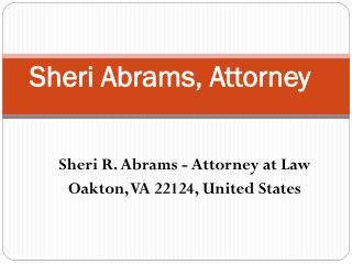 Sheri Abrams Attorney