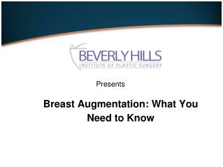 What is Breast Augmentation: What you Need to Know