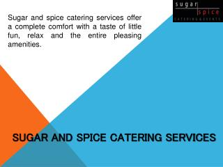 Catering Services UK