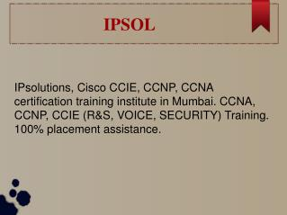 Best Hardware and Networking Training Institute in Mumbai