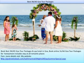 Best 3N and 4D Goa Packages
