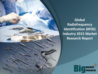Global Radiofrequency Identification (RFID) Industry 2015 - Market Size, Trends, Growth & Forecast