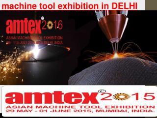 Machine tool exhibition in delhi