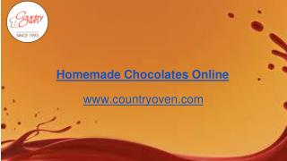 Order homemade chocolates hyderabad