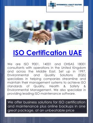 Iso Certification Cost