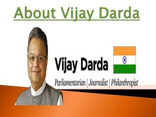 About Vijay Darda