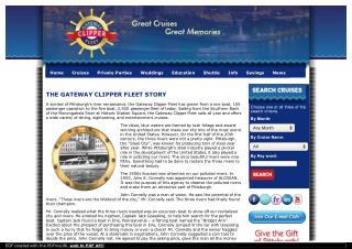 The Gateway Clipper Fleet Story