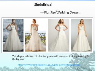Unique Plus Size Wedding Dresses Collections