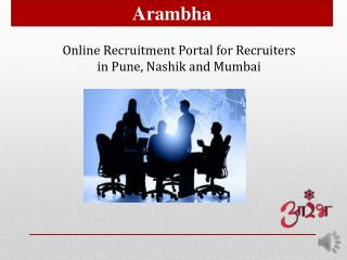 Online Recruitment Portal for Recruiters in Pune, Nashik and Mumbai