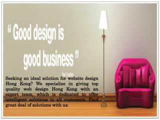 Website Design and Logo Design Company Hong Kong
