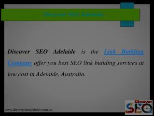 Link Building Company | Discover SEO Adelaide