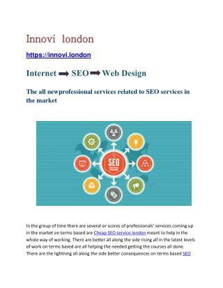Social media marketing Web design London